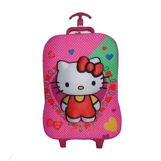 Trolly Bag For Girls - Hello Kitty