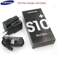 Fast Charger With USB Type C Data Cable For Samsung Galaxy S10 S10 Plus S9 S9 Plus S8 S8 Plus and other Type-C Supported Devices
