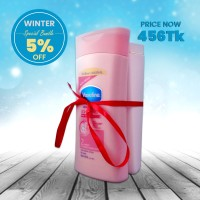 Winter Special Bundle Vaseline Healthy White Lotion 300ml with Clear Anti-dandruff Scalp Care Shampoo 180ml