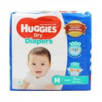 Huggies Dry Diaper M (6-11 Kg) 72 pcs (Malaysia)