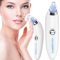 White And Blue Darma Plastic Derma Suction Blackhead Suction Remover Vacuum Facial Cleaner, For Personal, Oily Skin