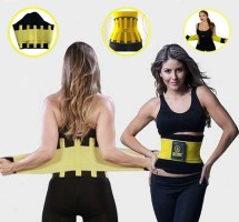 Hot Shapers Slimming Power Belt Men And Women - Black