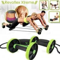 Revoflex Xtreme Re-Strengthening Workout Gym Rope/ Wheel