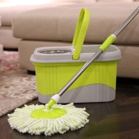 Double Color Magic Spin Mop with Bucket