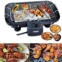 Electric Barbeque Grill Machine - Black 2000W