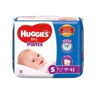 Huggies Dry Pants S ,4-8 Kg, 70 pcs, Malaysia
