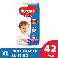 Huggies Dry Pants XL ,12-17 Kg,42 pcs Malaysia