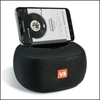 V8 Super Bass Wireless Bluetooth Speaker With Holder