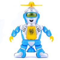 Battery Operated Plastic Dancing Robot Toys