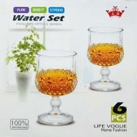 Yujing YJSK3203 6 Pieces Water Glass Set