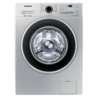 Samsung Front Loading Washing Machine with Eco-Bubble - WW80J4213GS/TL - 8.0Kg