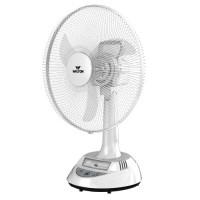 Walton W17OA-EM-MS (Stand-White, Base-White) Rechargeable Fan