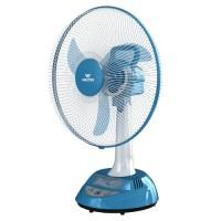 Walton W17OA-MS (Stand-White, Base-Blue) Rechargeable Fan