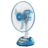 Walton W17OA-AS (Stand-White, Base-Blue) Rechargeable Fan