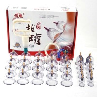 32 Vacuum Cups Chinese Medicine Magnet Therapy Cupping Set Acupuncture Massager Hijama