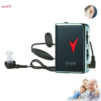 High Power AXON Model Body Worn Analog Hearing Aid Best Amplifier V-99 Pocket Hearing Aid