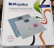 Miyako Glass Panel Electronic LCD Digital Weight Machine