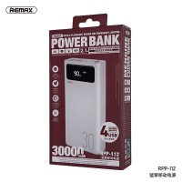Remax RPP-112 30000mah Power Bank With 4USB Output And 3 Input