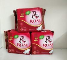 Rose Sanitary Napkin Regular  Use (Super Thin) 290mm Long  30 Pcs Napkin