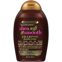 OGX Silicone Frizz-Moisture+ Shea Soft & Smooth Shampoo 385ml (UK PRODUCT)