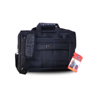 Stylish Polyester Office Bag For Men - Black