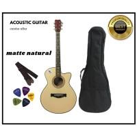 Matte Natural Premium Acoustic Guitar - 2020 Edition