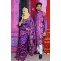 Fashionable Couple Set (Purple)