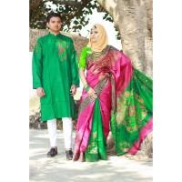 Fashionable Couple Set (Green & Magenta)