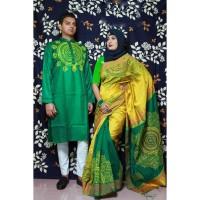 Fashionable Couple Set (Green & Yellow)